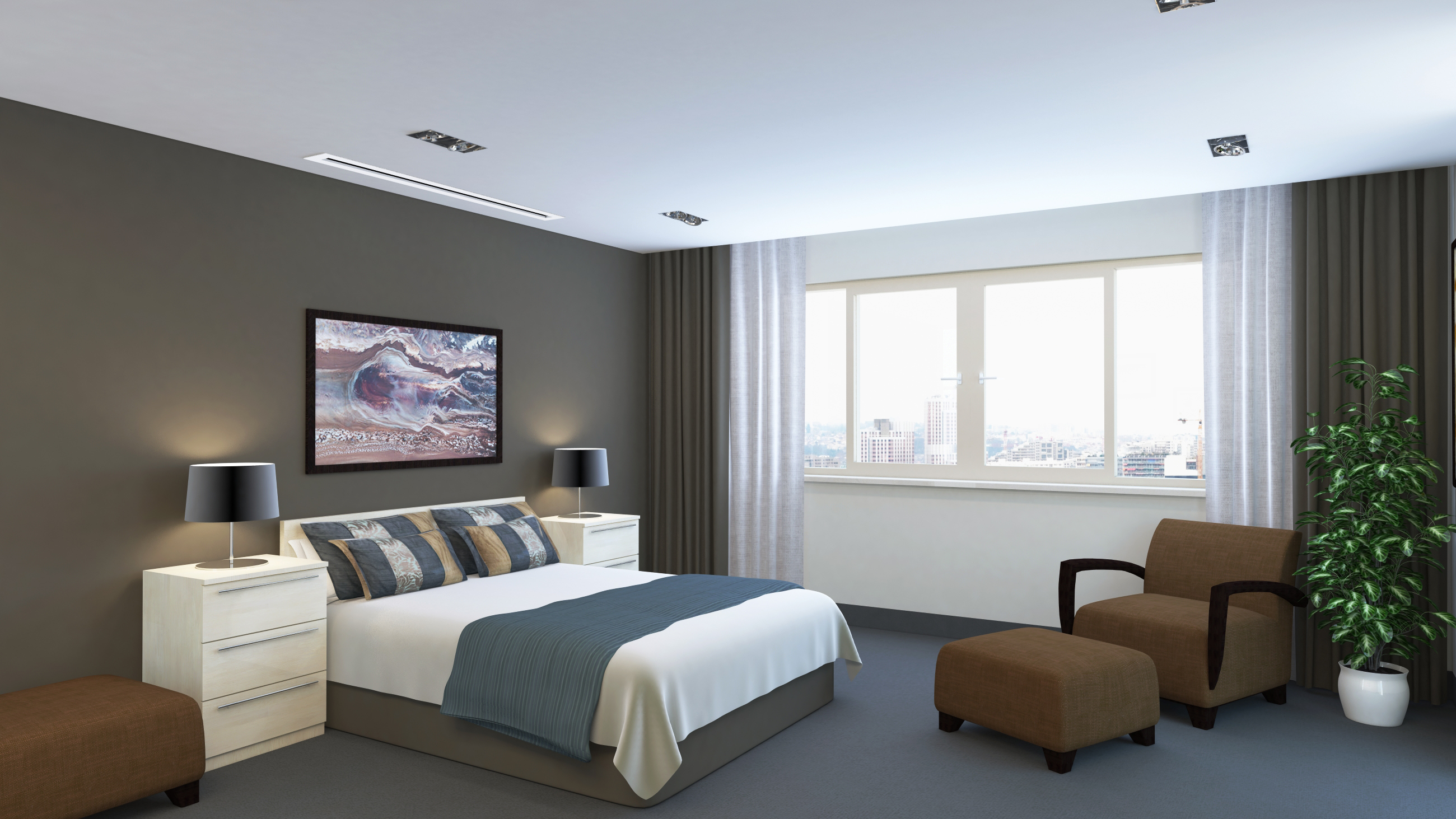 bedroom air conditioning installations expert aircon engineers. Black Bedroom Furniture Sets. Home Design Ideas
