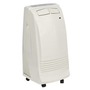 White Gree 3.5kW portable air conditioner angle view