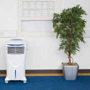 HiCool-i evaporative cooler in an office